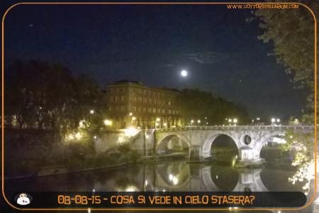 Qual'è il cielo che si vede in queste serate da Roma? Cosa è possibile riconoscere? Come fa una stella quando cade? (Giacomo)