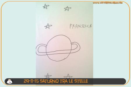 Saturno tra le stelle (Francesca)
