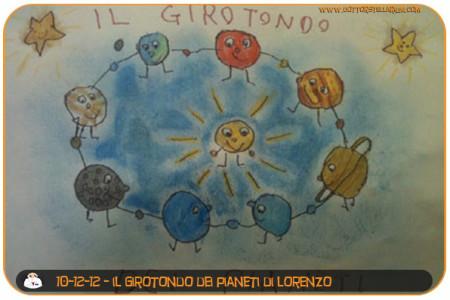 il girotondo dei pianeti (Lorenzo)