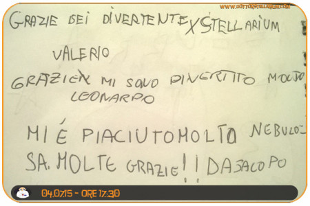 Grazie sei divertente Stellarium (Valerio, Leonardo, Jacopo)