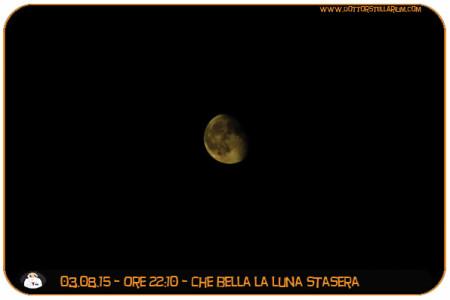 La Luna e la Stazione Spaziale Internazionale