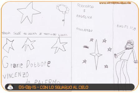 Il cielo stellato (Maria, Matilde, Vincenzo, Riccardo e Angelica)