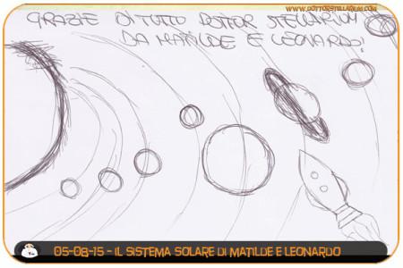 Il Sistema Solare (Matilde e Leonardo)