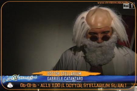 Alle 11.00 sintonizzatevi su RAI 1 il Dottor Stellarium parla della stella di Natale