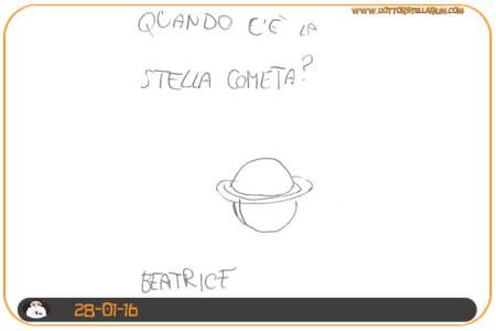 """Quando c'è la """"Stella"""" cometa? (Beatrice)"""