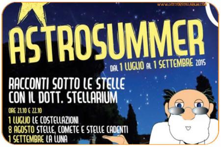 ASTROSUMMER 2015 – I racconti sotto le stelle con il Dottor Stellarium