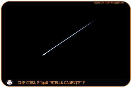 Ma le stelle cadenti ci possono cadere in testa? (Luca)