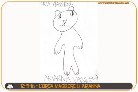 L'orsa maggiore di Arianna