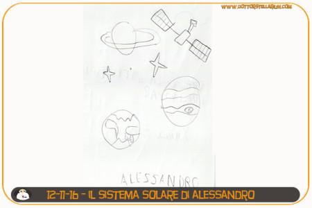 Il Sistema solare di Alessandro