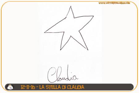 La stella di Claudia