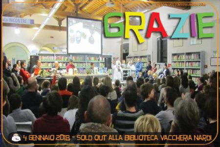 GRAZIE A TUTTI !!! STREPITOSO SPETTACOLO ALLA BIBLIOTECA VACCHERIA NARDI