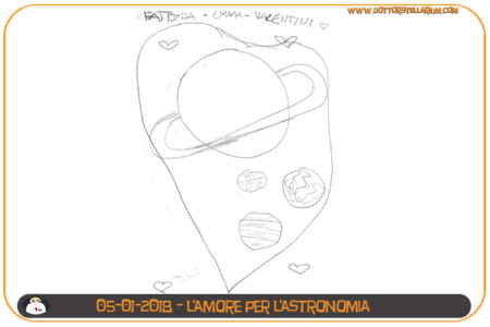 L'amore per l'astronomia di Emma