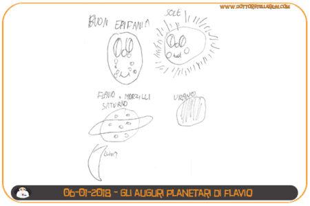 Auguri Planetari di Flavio