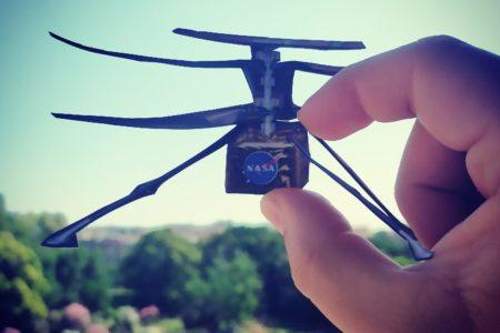 Ingenuity ultimi test per il primo drone marziano