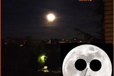 La Blue Moon di fine ottobre