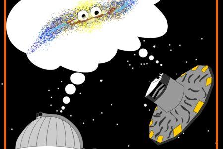 Nella Galassia le stelle fanno la ola